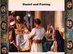 Daniel and Fasting