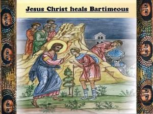Jesus heals Bart