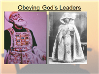 Obeying Gods leaders