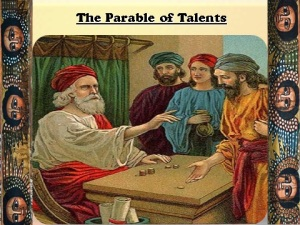 the parable of Talents